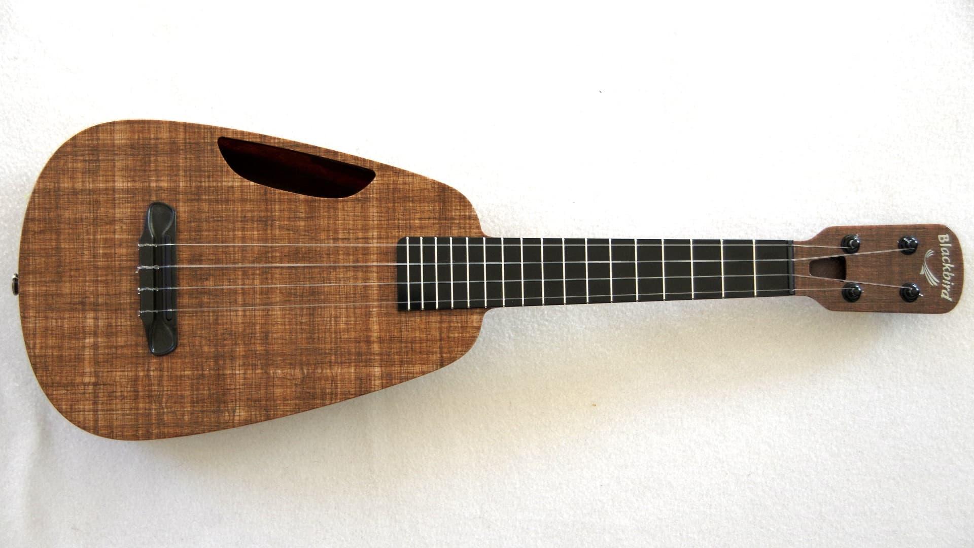 how to play blackbird on ukulele